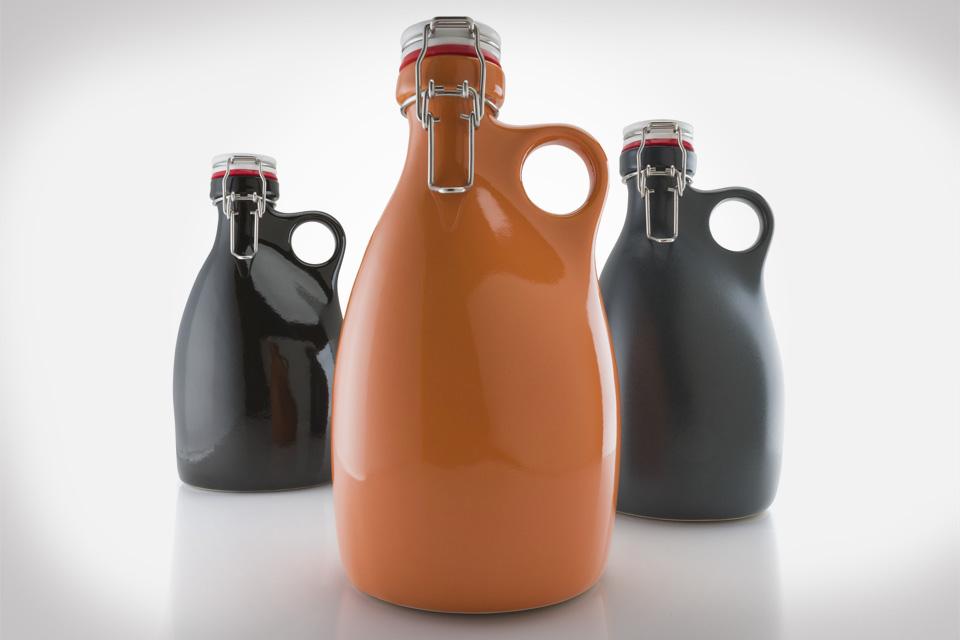 Orange Vessel Co. Growlers