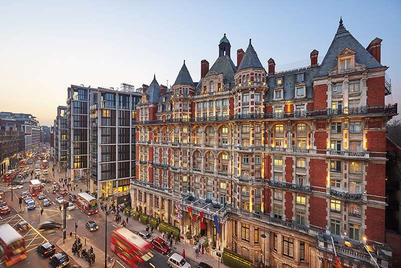 Mandarin Oriental Hyde Park, London Partners with Harrods this Christmas