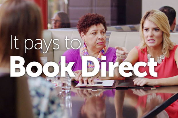 Grace Helbig stars in Marriott Campaign - #itpaystobookdirect