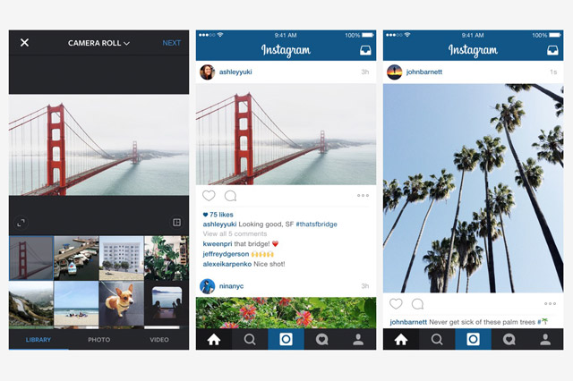 Instagram Now Supports Landscapes & Portraits
