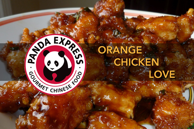 Orange Chicken Love - Panda Express