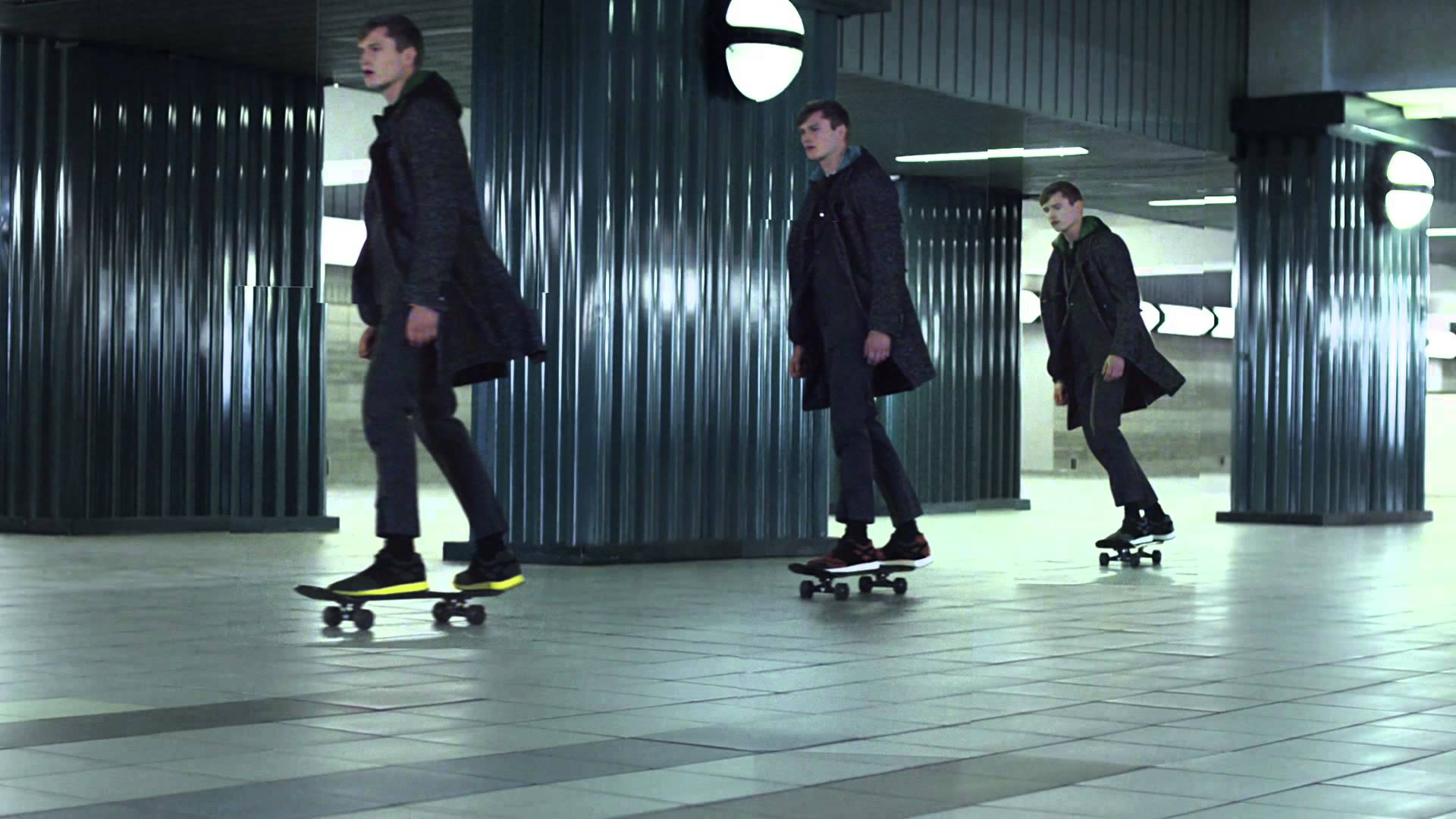 Adrian Lux in Z Zegna FW15 Advert