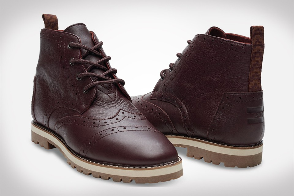 TOMS Brogue Boot Collection