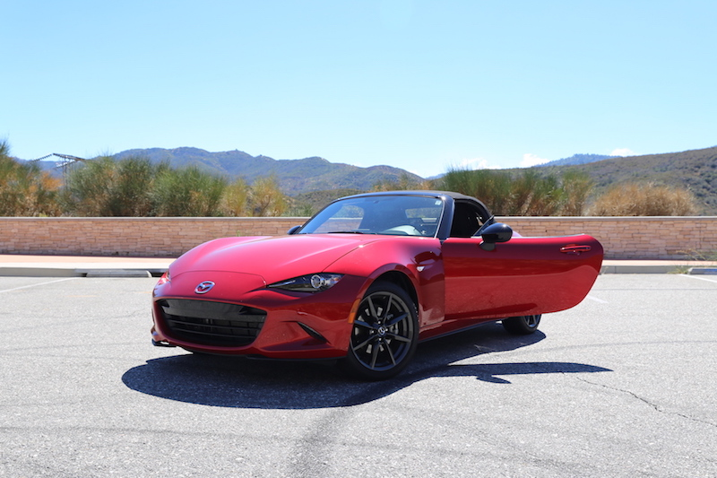 2016 Mazda MX-5 Miata in Red