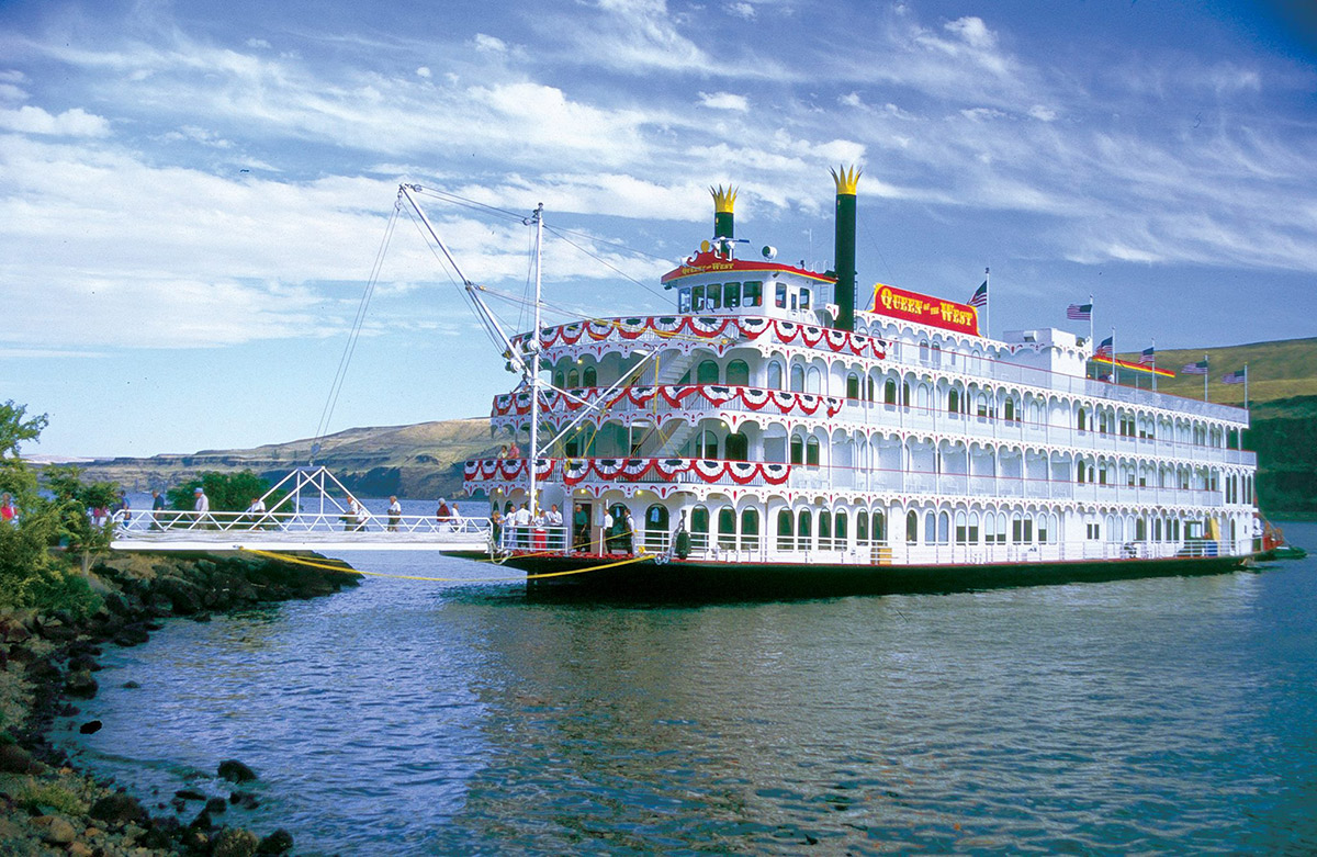 Queen of the West Paddlewheel boat from American Cruise Lines