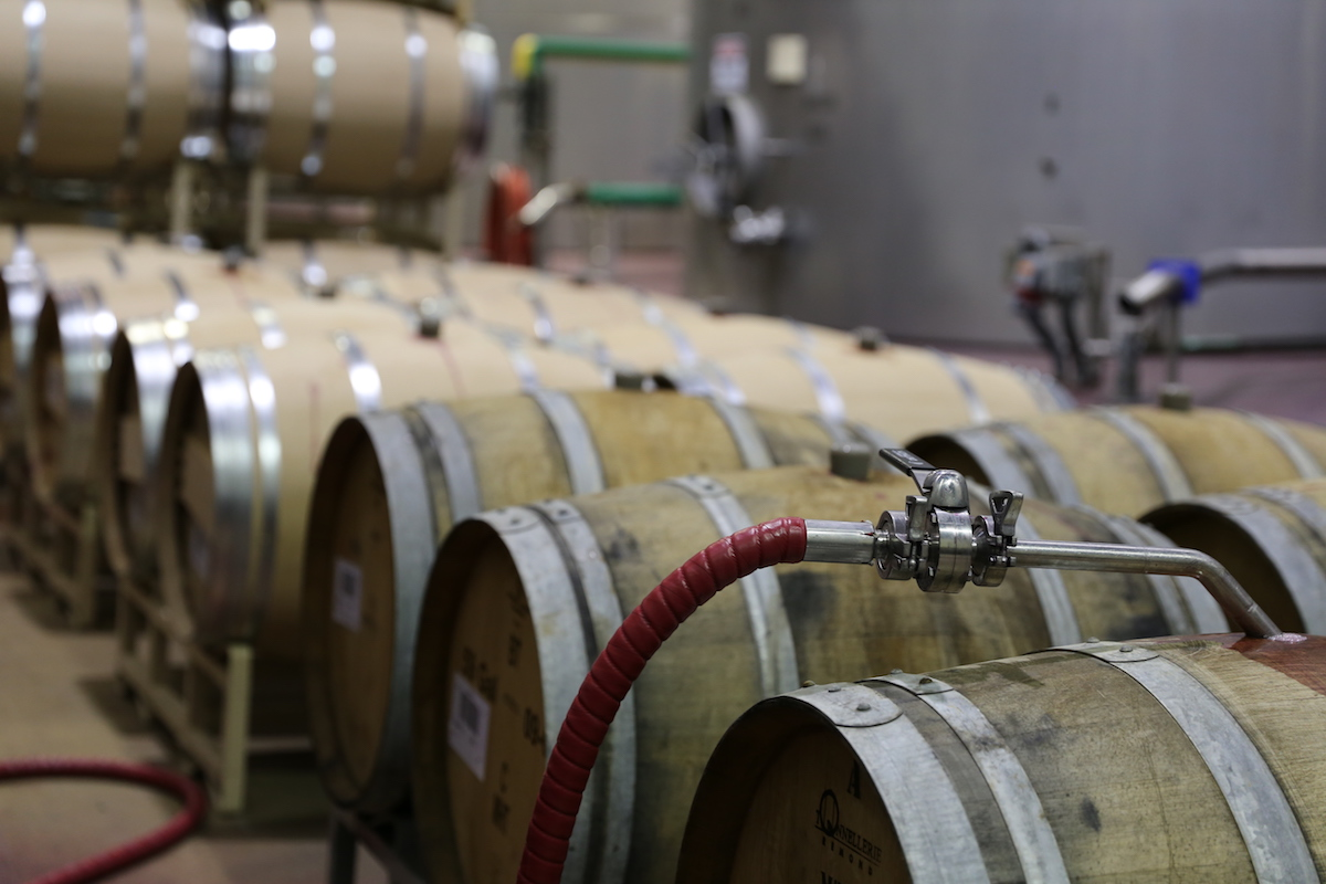 Columbia Crest Wine Barrels