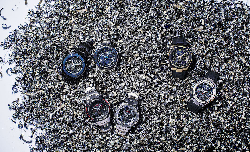 G-Shock G-Steel Collection