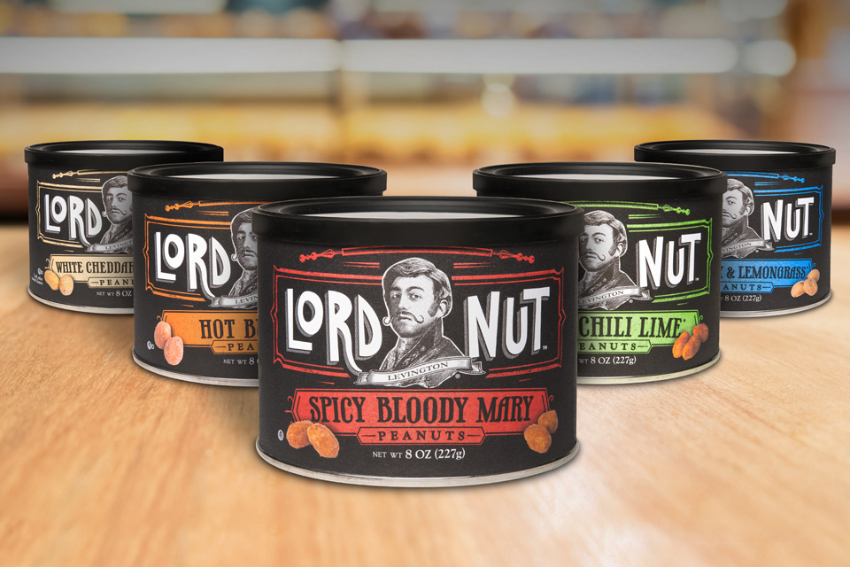 Lord Nut Levington, Not Your Average Nut Flavors