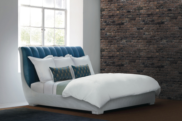 Robert Couturier Designs Bed for Savoir Beds