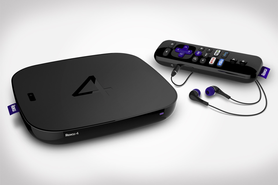 Roku 4, 4K Steaming Box