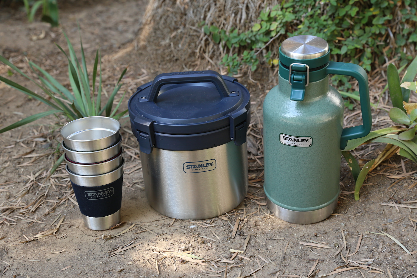 Stanley Tumblers, Crock, and Growler
