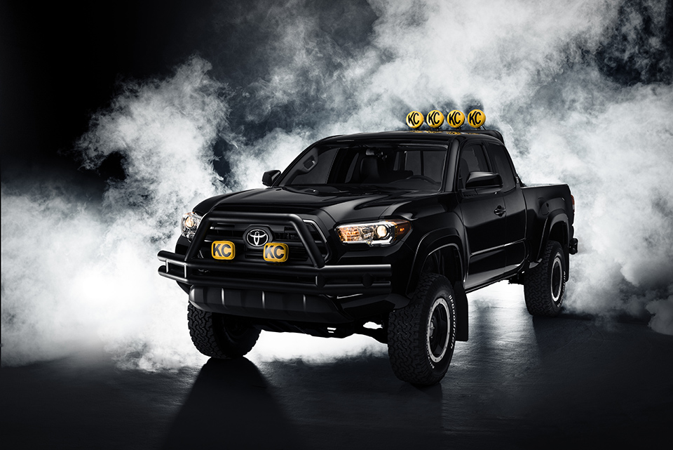 The all-new 2016 Toyota Tacoma reimagined as Marty McFly's dream truck