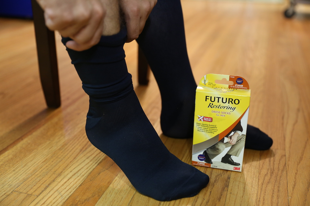 How to Ease Aching and Swelling in Your Legs and Feet with FUTURO™ Legwear