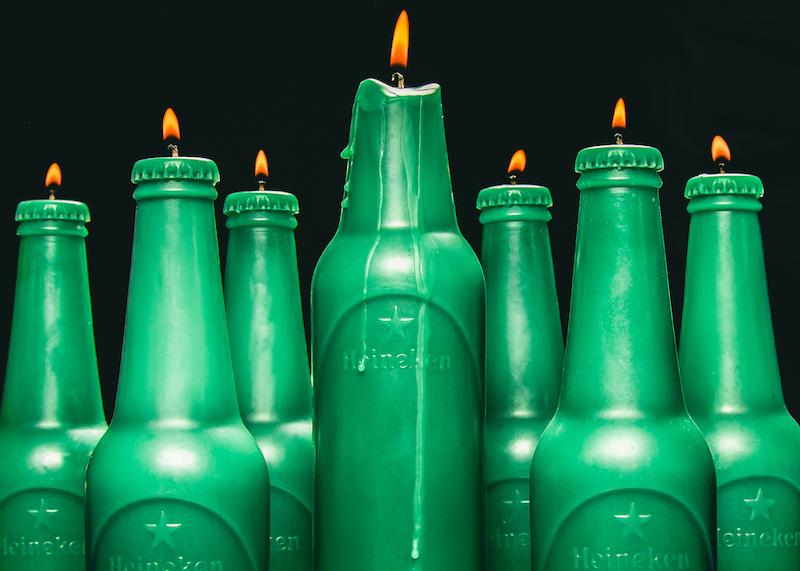 Heineken x Alchemist Miami Handmade Candles #Heineken100
