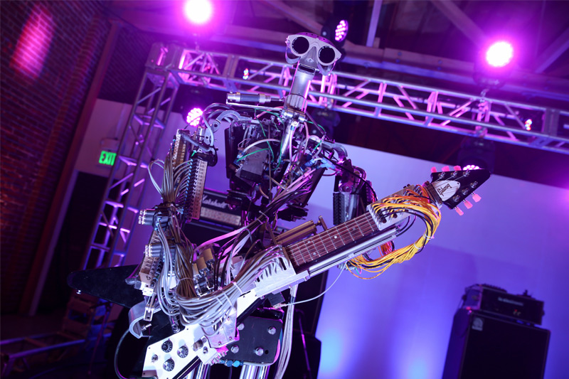 Robotic Band at Absolut Party