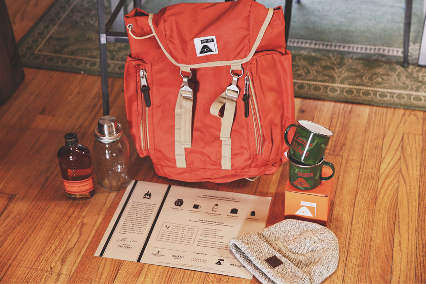 Bulleit Camping Cocktail Kit