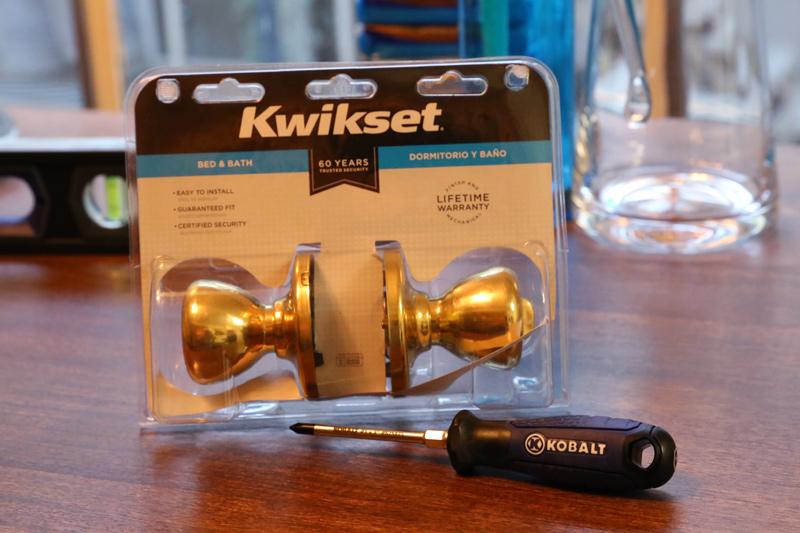 How to Change a Bedroom Door Knob with Kobalt Tools