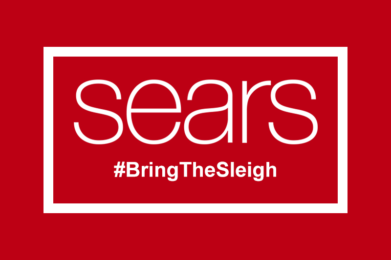 Sears #BringTheSleigh