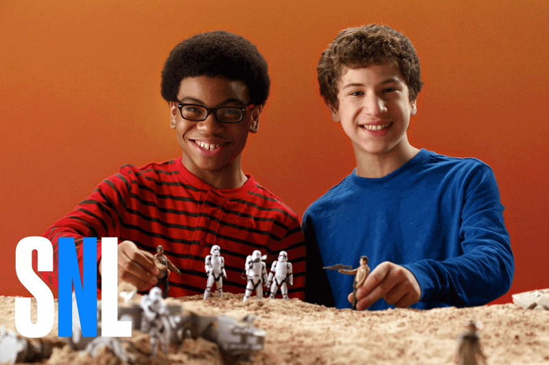 SNL: Star Wars Toy Commercial