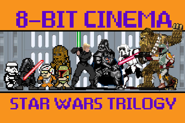 Star Wars 8-Bit Cinema