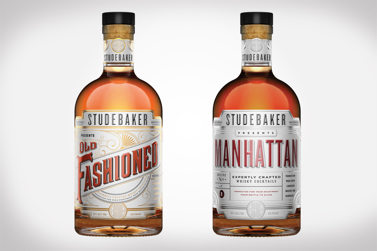 STUDEBAKER Old Fashioned and STUDEBAKER Manhattan