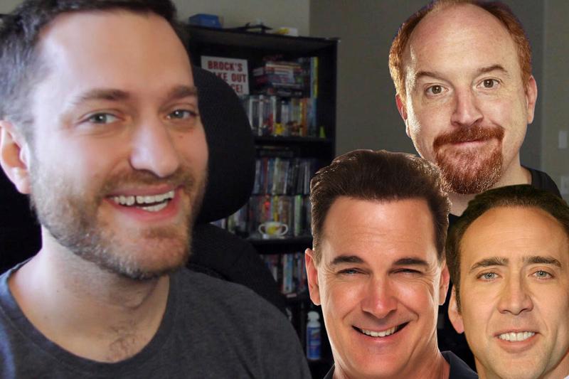 Brock Baker Uses Face Swap Live App