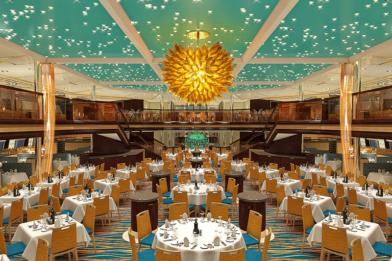 Carnival Sunshine Anytime Dining Room