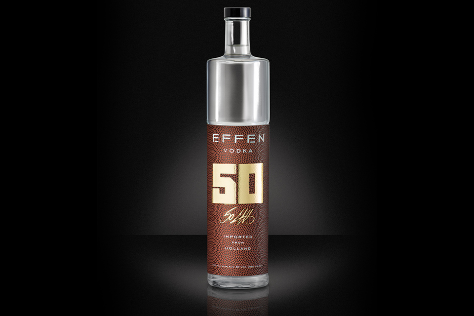 EFFEN Vodka Launches Limited Edition Football Bottle with 50 Cent