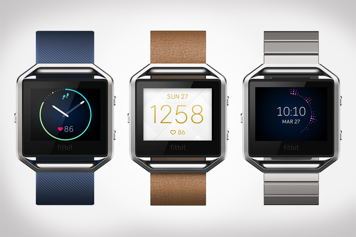 Fitbit Blaze Watch with Color Screen