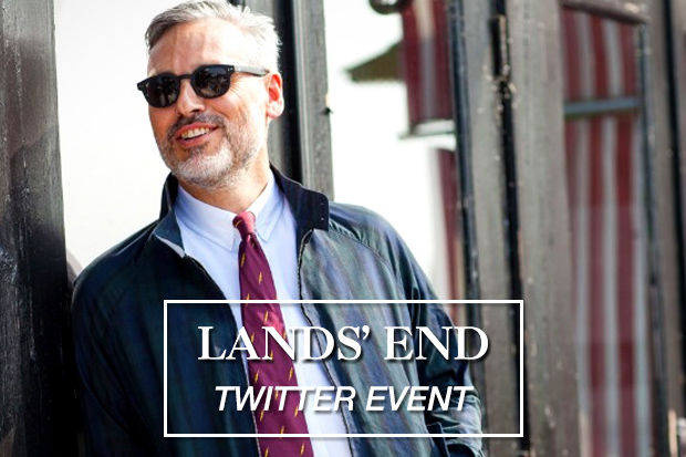 Lands' End Twitter Event