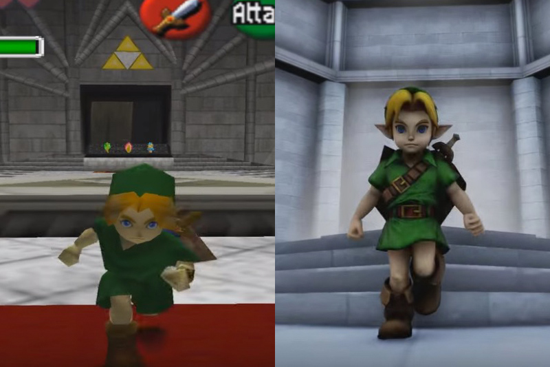 Zelda: Ocarina of Time on the Unreal Engine 4