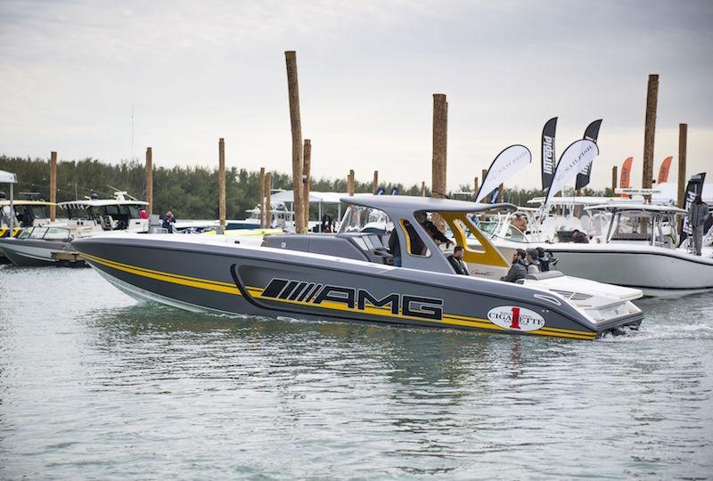 Cigarette Racing Team 41 SD GT3 Boat