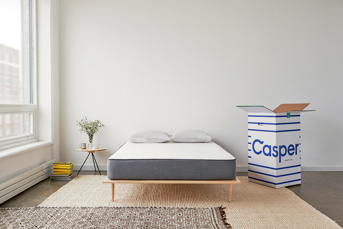 Casper Mattress out of the box