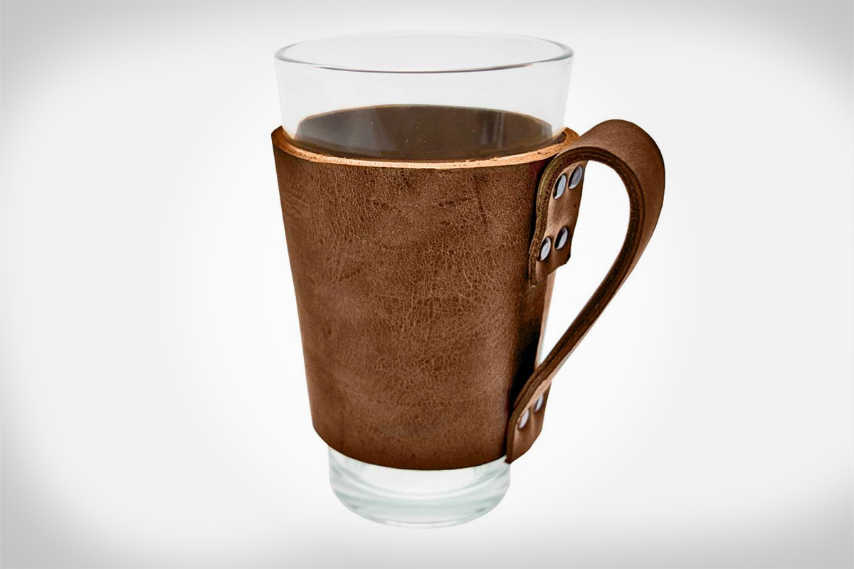 Hide and Drink Leather Pint Sleeves