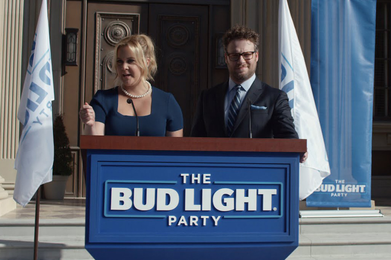 The Bud Light Party, featuring Amy Schumer and Seth Rogen