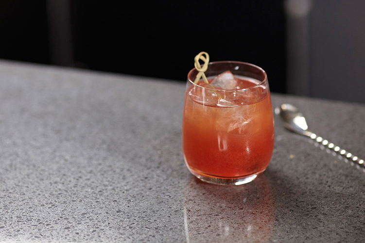 The Golden Gate Cocktail Made With Bulleit Rye
