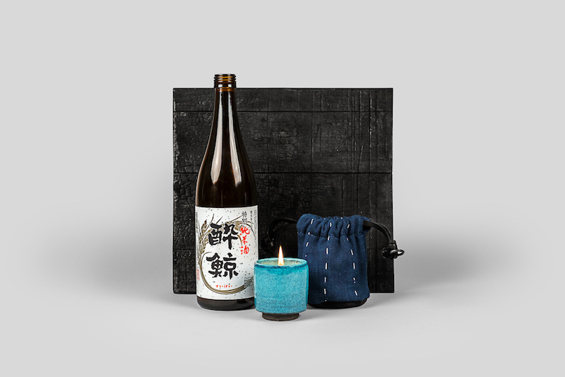 Elsewhere Travel Candle Collaboration with Norden and Hajime Imura