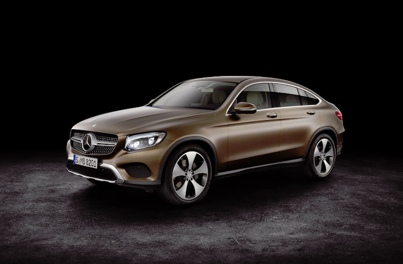 Mercedes-Benz Unveils New 2017 GLC Coupe at 2016 New York Auto Show