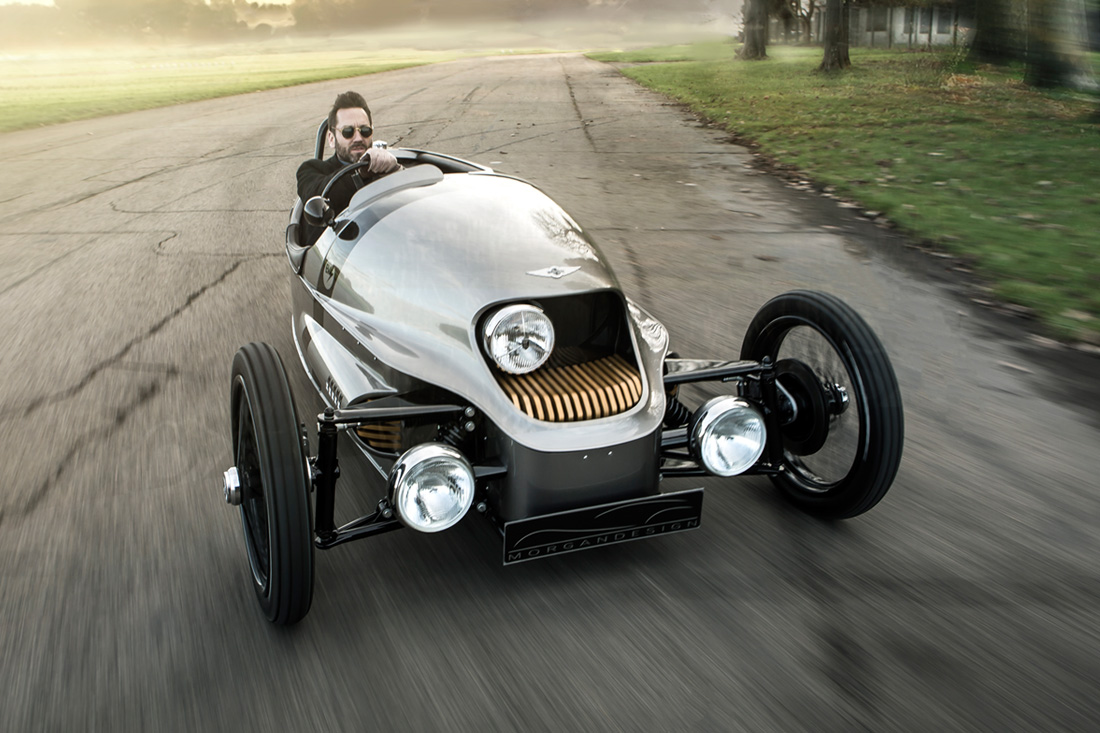 The Morgan EV3 in Action