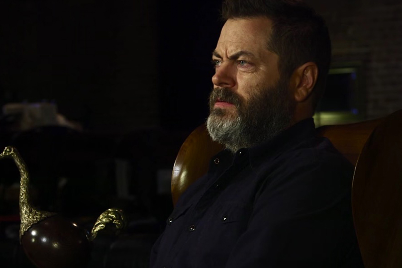 Nick Offerman's Shower Thoughts