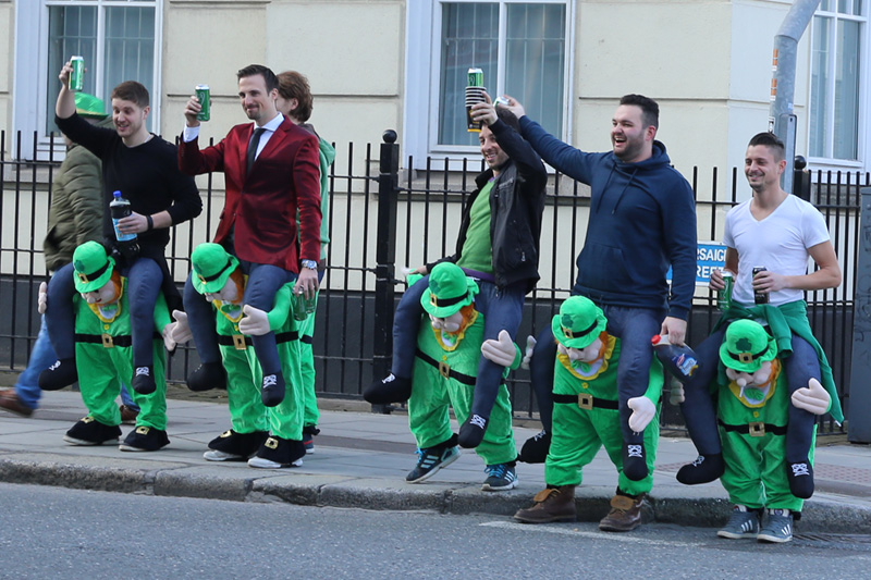 St. Patrick's Day in Dublin