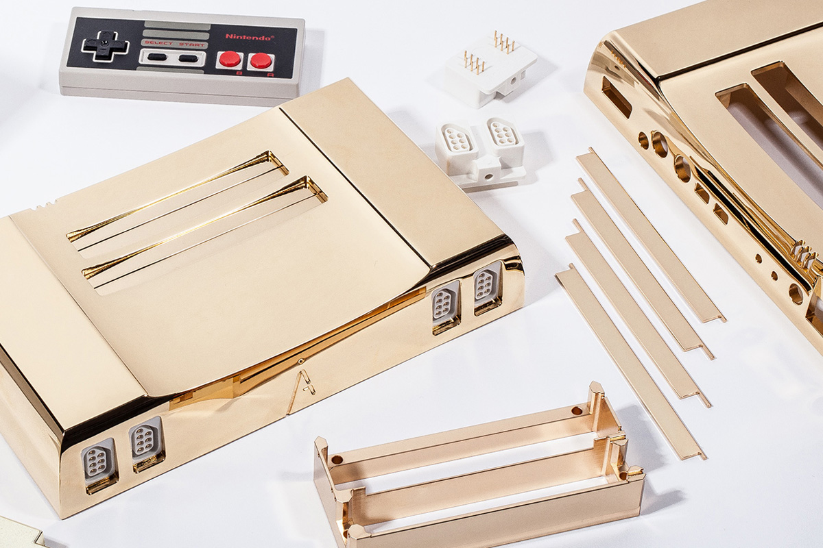 Analogue Nt Commemorates 'The Legend of Zelda' 30th Anniversary with 24K Gold NES
