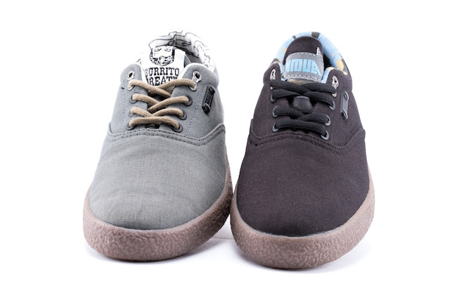 DZR Teams Up With Artists: D Young & Burrito Breath on Flat Pedal Bike Sneakers