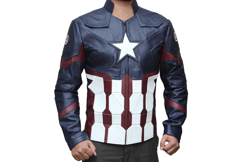 Captain America Civil War Inspired Jacket