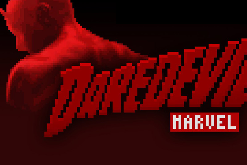Daredevil Intro in 8-Bit