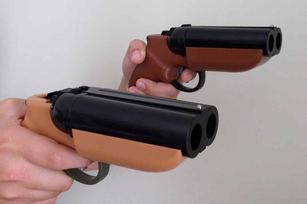 GOBLIN DEUCE DOUBLE-BARREL PAINTBALL PISTOL