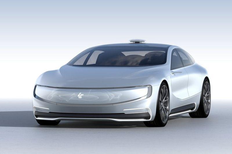 LeEco Unveils Its Electric & Autonomous LeSEE Concept