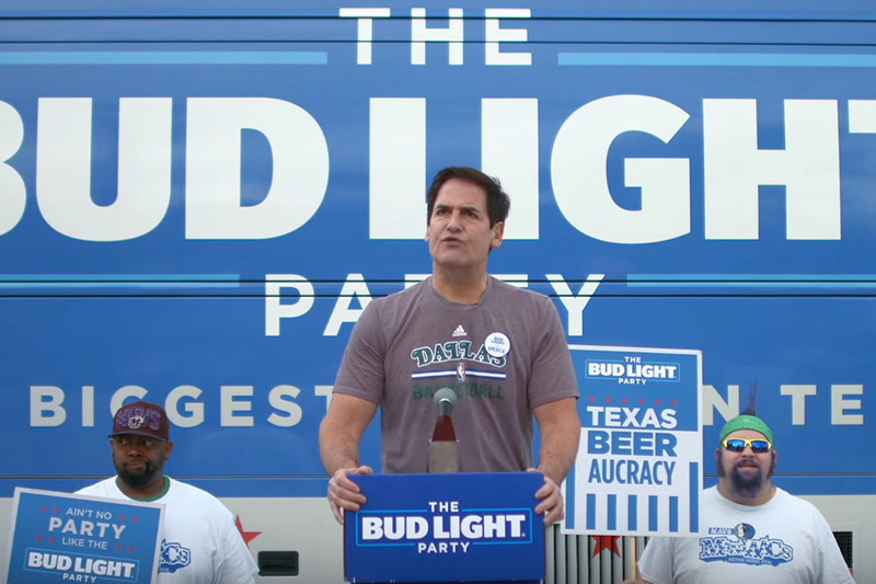 Mark Cuban Joins the #BudLightParty
