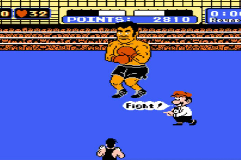 Mike Tyson's Punch Out Easter Egg