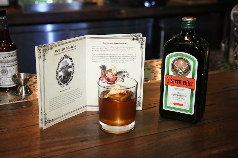 Willy Shine's Jägermeister Old Fashioned